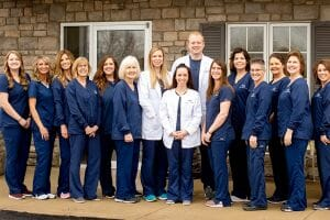 Group of dental workers